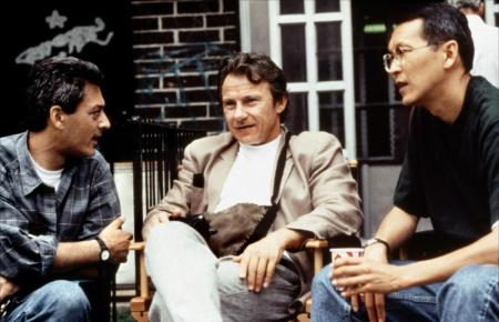 Paul Auster, Harvey Keitel y Wayne Wang