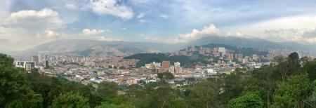 Medellín, Colombia, visto desde el pueblito paisa